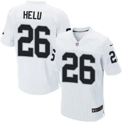 Nike Men's Elite White Road Jersey Oakland Raiders Roy Helu 26