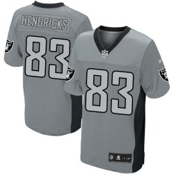 Nike Men's Limited Grey Shadow Jersey Oakland Raiders Ted Hendricks 83