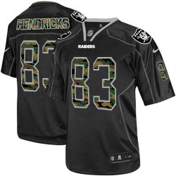 Nike Men's Elite Black Camo Fashion Jersey Oakland Raiders Ted Hendricks 83