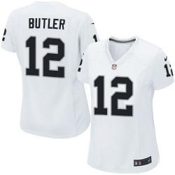 Nike Women's Elite White Road Jersey Oakland Raiders Brice Butler 12