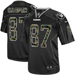 Nike Men's Elite Black Camo Fashion Jersey Oakland Raiders Dave Casper 87