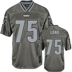Nike Men's Elite Grey Vapor Jersey Oakland Raiders Howie Long 75