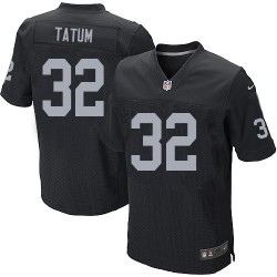 Nike Men's Elite Black Home Jersey Oakland Raiders Jack Tatum 32