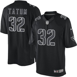 Nike Men's Elite Black Impact Jersey Oakland Raiders Jack Tatum 32