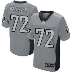 Nike Men's Limited Grey Shadow Jersey Oakland Raiders John Matuszak 72