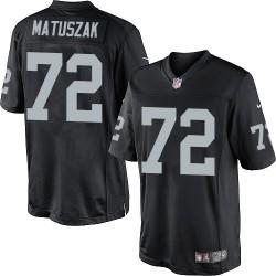 Nike Men's Limited Black Home Jersey Oakland Raiders John Matuszak 72