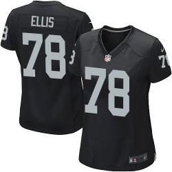 Nike Women's Game Black Home Jersey Oakland Raiders Justin Ellis 78
