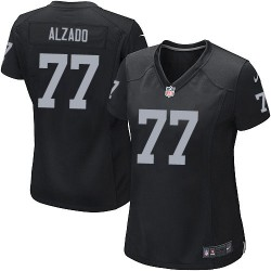 Nike Women's Game Black Home Jersey Oakland Raiders Lyle Alzado 77
