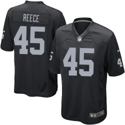 Nike Youth Limited Black Home Jersey Oakland Raiders Marcel Reece 45