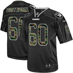 Nike Men's Elite Black Camo Fashion Jersey Oakland Raiders Otis Sistrunk 60